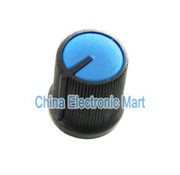 20PCS/ LOT Quality Plastic Potentiometer Knob For Single And Double Union Potentiometer