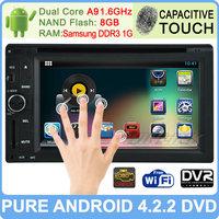 2014 Newest Pure Android 4.2 Car Dvd Gps For Nissan Toyota Kia Tiida Qashqai Sunny X-Trail Paladin Frontier Patrol Versa Livina