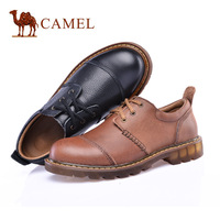 2014 new fashion men's shoes high quality hot 100% cowhide business casual hiking shoes loafter hand stitching flats men