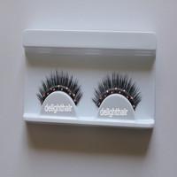 Free shipping 5 pcs/lot  diamond  mink eyelashes siberian mink fur  eyelash extension