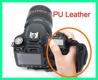 Black Camera Wrist Strap / Hand Grip for Canon Nikon Sony Olympus SLR/DSLR High Quality PU Leather Free Shipping