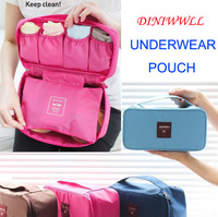 Hot sale New Travel Pouch underwear multifunctional portable wash bag bra  Waterproof 4 Colour,Make up bag $1.98/pc