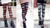 Hot ! Fashion Warm Girl Lady Women's Colorful Print Leggings Pencil Leggings Sexy Pants X010 Free Shipping
