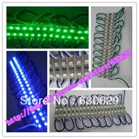100pcs/lotSMD 3528 2 LED/pcs Modules light cool white Waterproof IP65 DC12V red/green/blue/yellow/white/warm white Free Shipping