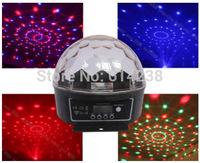 New! Digital LED RGB Crystal Magic Ball Effect stage Light DMX 512 Disco DJ Stage Lighting show free shipping