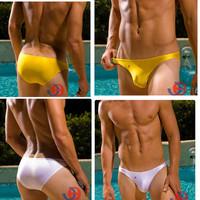 Promotion!!Sexy Mens Underwear Briefs- Sexy Low-Rise Nylon Underwear Bikini-S,M,L-Joe Snyder Sexy mens underwear2PCS-10%OFF