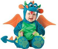 Baby petti romper Triceratops Dragon / Dinosaur long sleeve Romper Kids Onesie Suit Animal  Shapes Child autumn winter Clothing