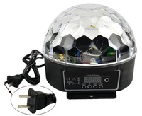 Newest DMX 512 Digital RGB LED laser projector Crystal Magic Ball Effect disco light DJ Stage Lighting 20W 90-240V 8935..