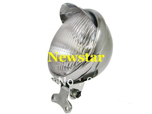 "Brand New MOTORCYCLE Chrome 5.5"" Steel Headlight for Suzuki Boulevard C50 Intruder Chopper Cruiser SH-501(China (Mainland))"