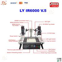 Free shipping factory sale 220V LY bga machine IR6000 V.5 two heads welding machine bga reball station