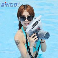 WP04-04 pvc waterproof camera bag for dslr digital camera in water sports