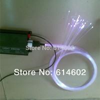 16W LED Fiber machine+1.0mm Fiber Optic (1500meters), Length: 1500meter, RGB Controler, Free shipping