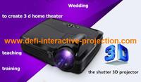 "Best Full HD DLP Led 3D Projector 4500 Lumens Video Digital Beamer Projektor Proyector High Brightness Project 350"" screen"