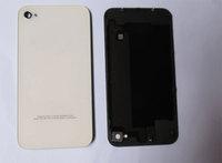 original 4S shell phone cover glass battery cover back cover for iphone4s glass battery cover Replacement housing