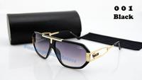 Free shipping luxury sunglass cazal  brand oculos de sol   women  men designer sunglasses with box oversize frame 626