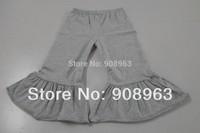 New Retail wholesale Baby Girls Leggings Girls knit  cotton ruffle pants Baby Pants ruffle leggings Shipping  Free