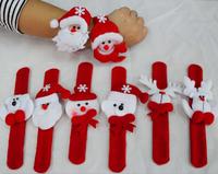 Santa Claus Christmas bracelet&wristband Christmas toys gifts Christmas&New Year gifts christmas decorations wholesale