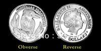 1 Gram Australian Kookaburra Silver Coin