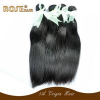 Best sales6A indian virgin hair  shipping ,AAAAA hair natural stright ,natural color 3pcs/lot