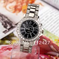 High Quality WeiQin Brand 2013 New Women Quartz Watches Luxury Full Imitation Diamond Dress Watches TA026