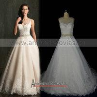 Straps Amanda Novias Real Photos Wedding Dress NS537