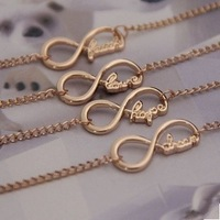 Free Shipping Wholesale Sterling Punk Rhinestones Link Chain Bracelet and Bangles For Women