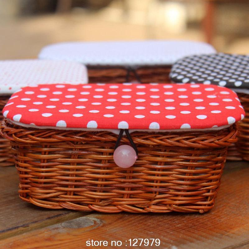 Korea Needlework, Sewing basket, sewing kit, exquisite sewing kit, needle, thread tools, freeshipping!!(China (Mainland))