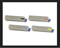 free shipping ! Compatible OKI MC860 4pcs Color toner Cartridge + 4pcs OKI MC860 Drum kit drum unit ,total 8 pcs/lot