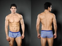 New XUBA Classic Stripes Men's Fashion Underwear Boxers Cotton Shorts