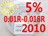 4000PCS 2010 Resistor 0.01R - 0.018R 5% 1/2W SMD Resistor 2010 Chip Resistors