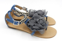 """2015 special offer hot sale soft cow muscle low (3/4"""" to 1 1/2"""") eur 34-43 fashion spring and summer women sandals for lady flat"""
