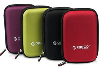 """Waterproof Portable 2.5"""" Carry Bag/Case/Cover 4 External Hard Drive/HDD/GPS Purp"""
