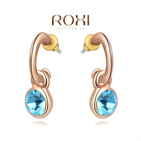 Christmas Delicate Large zircon Earrings,Gift to girlfriend is beautiful,Pure handmade fashionable elegance,2020292290