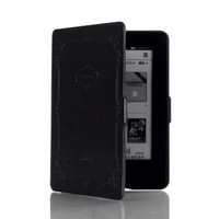 Luxury Ultra Slim Smart Leather Magnetic E Book Case Holy Bible E-Reader Cover For Amazon New Kindle 2014 6 inch 7th Gen