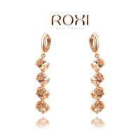 Christmas Delicate Large zircon Earrings,Gift to girlfriend is beautiful,Pure handmade fashionable elegance,2020302750
