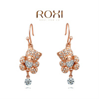 Christmas Delicate Large zircon Earrings,Gift to girlfriend is beautiful,Pure handmade fashionable elegance,2020204520