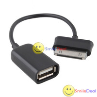 [SmileDeal] USB Female Port OTG Cable Adapter For Samsung Galaxy Tab Tablet 10.1 8.9 P7510 Save up to 50%