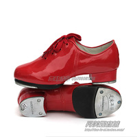 Adult female stepdames shoes tap shoes red jazz shoes