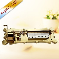 78 notes luxury music box mechanism, musical movements with 5 exchangeable drums., unusual gifts, home decor