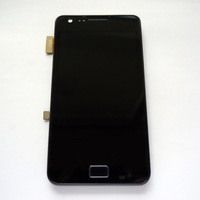 Black Original LCD Touch Screen Digitizer Assembly For Samsung Galaxy S2 i9100