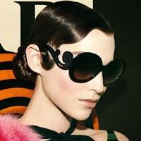 Baroque sunglasses big cloud black round frame sunglasses male female fashion apparel eyewear accessories free shipping YJ5000