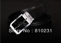 2014 New arrival Fashion famous brand Brass buckle, Men's 100% Genuine Leather belt,Man best Holiday gift,Free Shipping