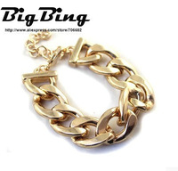 BigBing Fashion jewelry  fashion accessories quality fashion gold silver bracelet   free shipping  J757