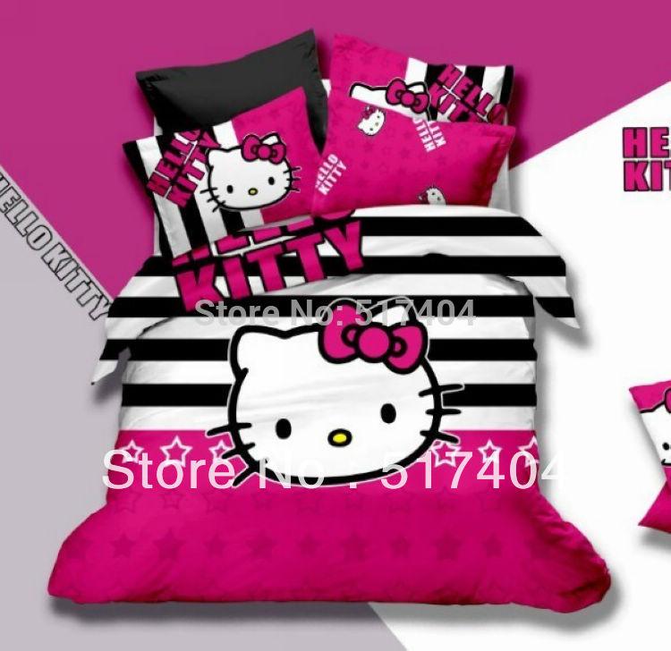 popular hello kitty queen size bedding buy cheap hello kitty queen
