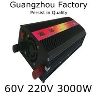 Inverter 60v 220v 3000w home emergency power supply converter  60v 3000w DC 60V to AC 220V Outdoor Emergency Power Supply