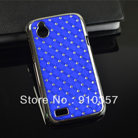 Luxury Bling Diamond Star Hard Back Case Cover For HTC Desire V T328w / Desire X T328e