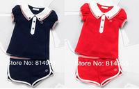 Free shipping, wholesale, Minnie Polka Dot short suit,1set/lot--JYS607