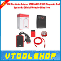 2014 New Arrival VDM UCANDAS V3.7 WIFI Diagnostic Tool  With Wifi OBDII Vehicle Diagnostic Moudle VDM Free Shipping By Fast DHL