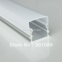 20m (20pcs)  a lot, 1m per piece, AP2114 aluminum profile for led light bar with milky diffuse cover