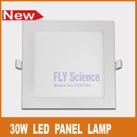 Ultra thin 30W High bright 2850lm LED panel lamps white flat square down lighting bulb AC85-265v